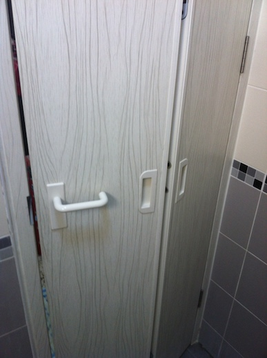 Pvc Bifold Toilet Doors Home Furnishings