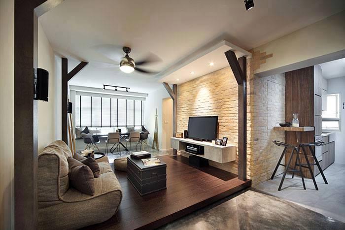 2 Room Bto Themeless With Philips Hue Lighting Reno T