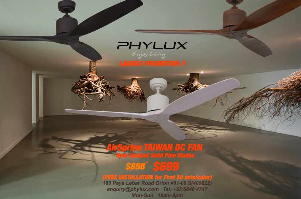 Phylux distributor haiku dc fan swarovski philips lighting phylux airsprine organic dc fan launchg mozeypictures Gallery