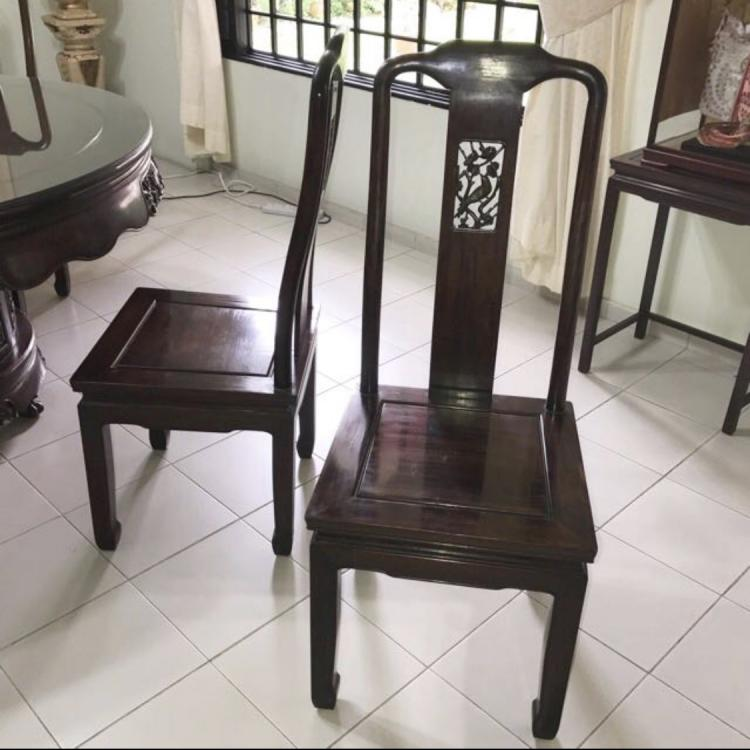 Round 8 Chairs For Sale.