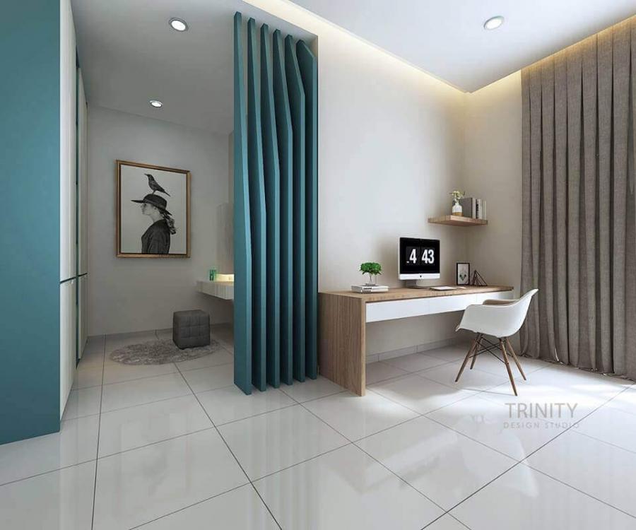 chateau @ eco botanic, living room, interior designer in johor bahru, trinity design studio