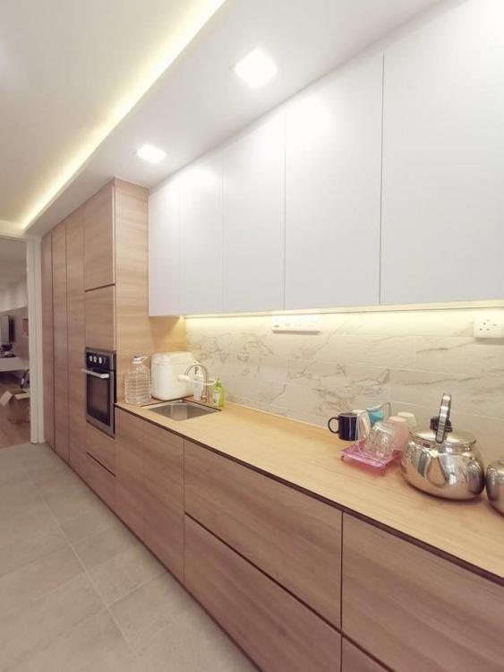 de space interior design jb, small kitchen cabinet