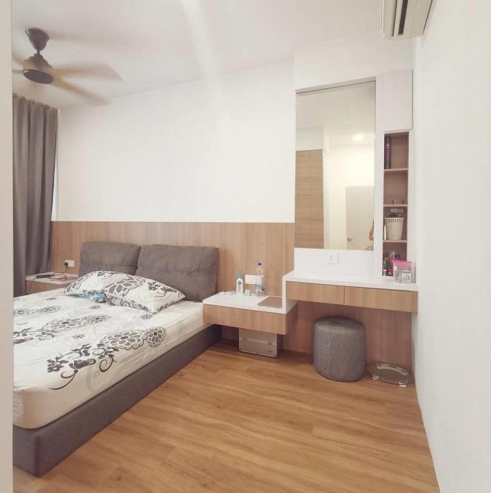 de space interior design jb, small bedroom master
