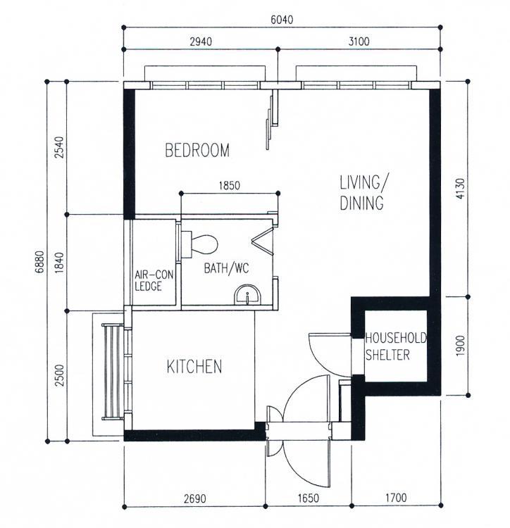 My Mancave 2rm Type 1 35sqm Hdb Bto Post Renovation Musings Reno T Blog Chat Hdb Bto Interior Design And Renovation Renotalk Com