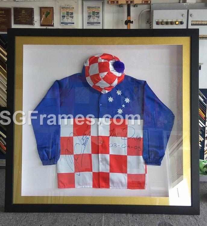 SGFrames.com Horse Race Jockey Suit Framing.jpeg