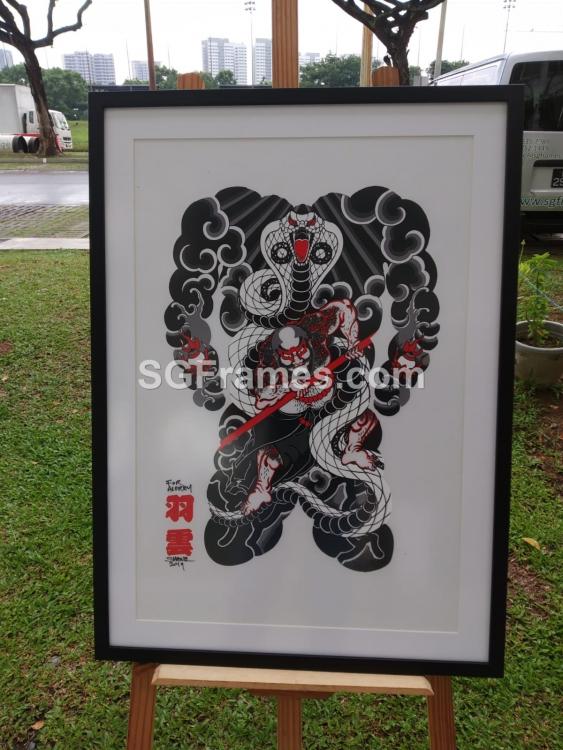 SGFrames.com_Chinese_Art_Framing_with_Mat_Board_Border_001.png