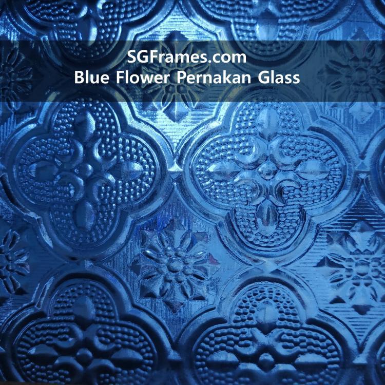 SGFrames.com Blue Floral Pernakan glass.jpg