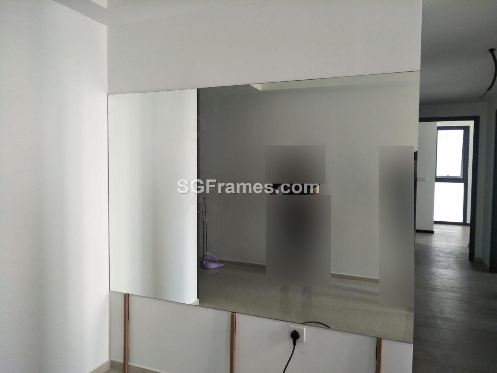 SGFrames.com Frameless Clear mirror Installation 004.jpeg