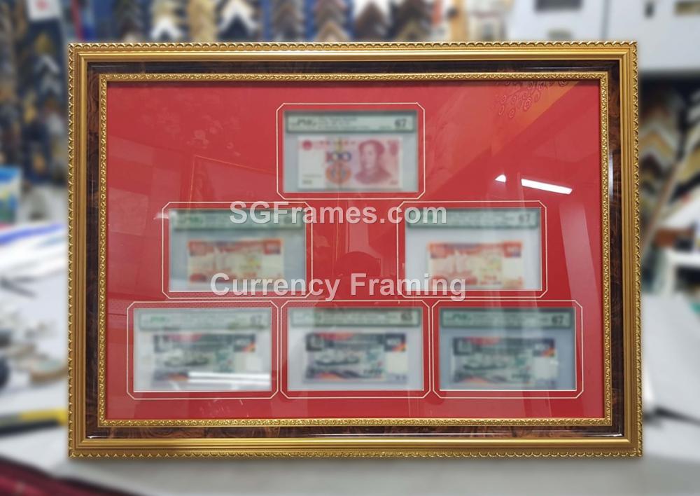 SGFrames.com Currency Framing with Mat Mount Border 230720b.jpg
