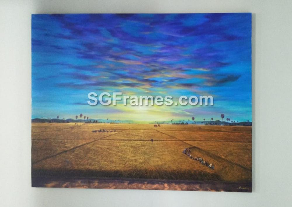 SGFrames.com Canvas Stretching and framing of Oil painting 130720e.jpg