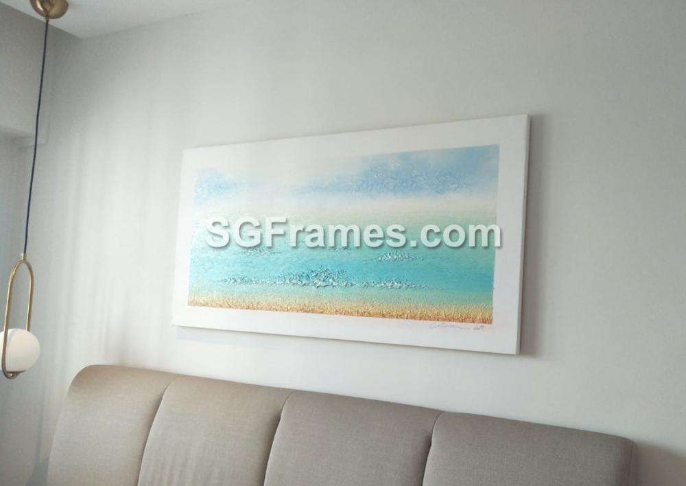 SGFrames.com Canvas Stretching and framing of Oil painting 130720d.jpg