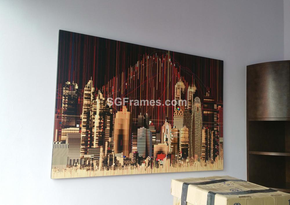 SGFrames.com Canvas Stretching and framing of Oil painting 010720e.jpg