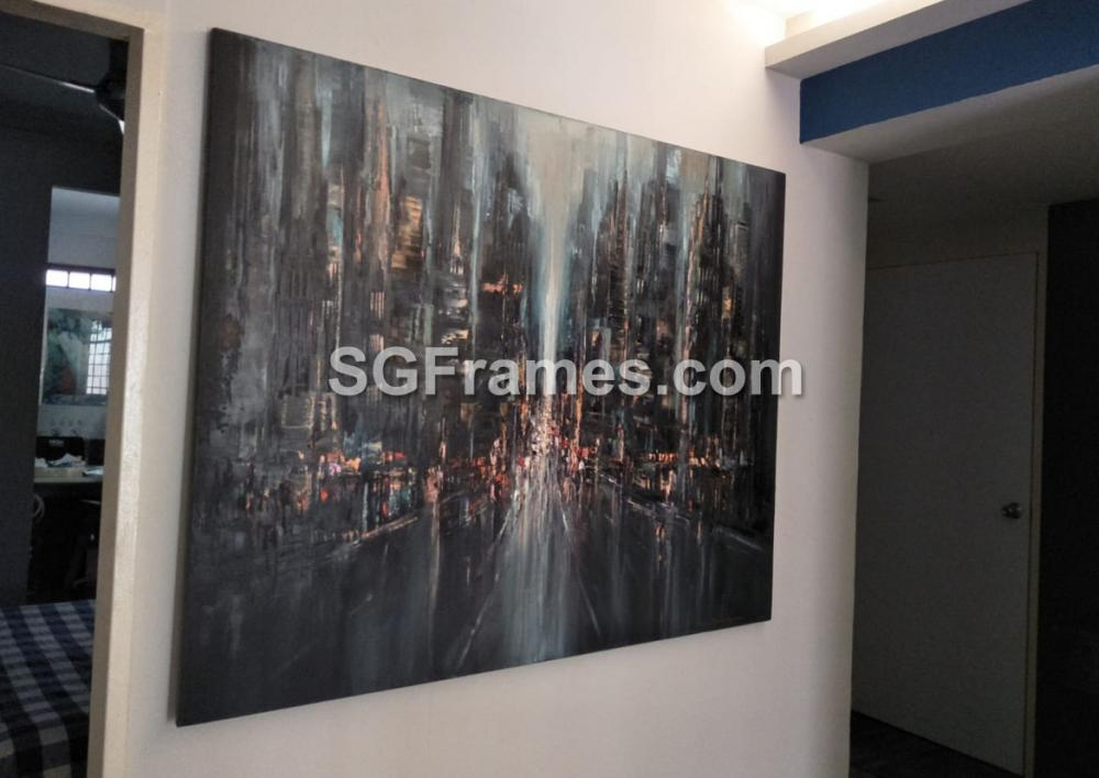 SGFrames.com Canvas Stretching and framing of Oil painting 130720b.jpg