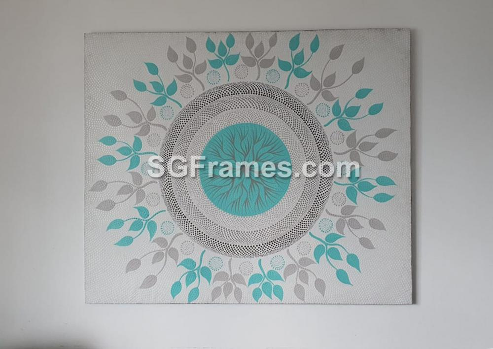 SGFrames.com Canvas Stretching and framing of Oil painting 130720c.jpg
