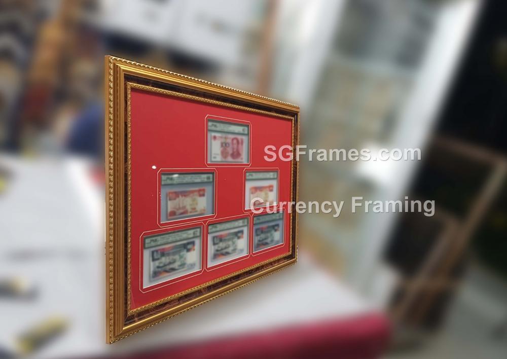 SGFrames.com Currency Framing with Mat Mount Border 230720b1.jpg