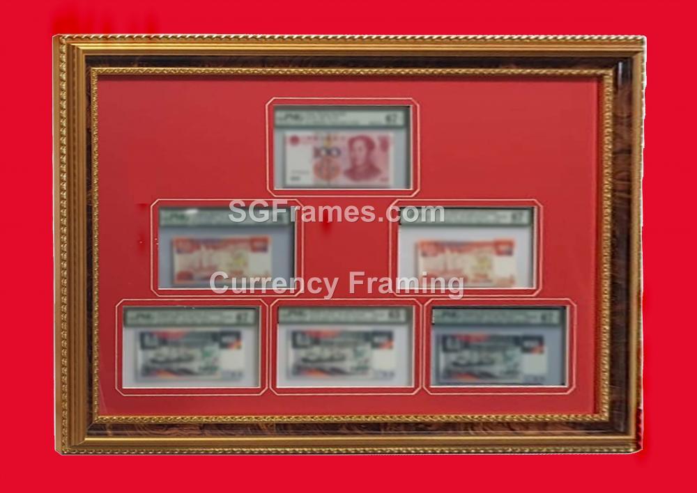 SGFrames.com Currency Framing with Mat Mount Border 230720d.jpg