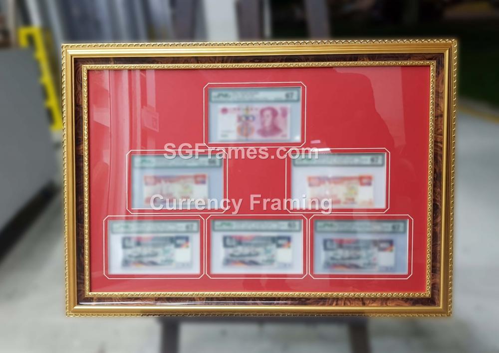 SGFrames.com Currency Framing with Mat Mount Border 230720c.jpg