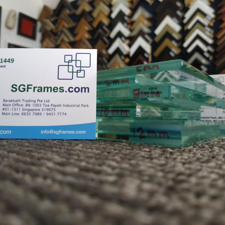 SGFrames.com Glass Types Clear, Tempered, Grey, Shell, Frosted, White Painted3.jpg