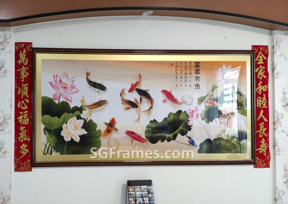 SGFrames.com Cross Stitch Framing with border and Clear Acrylic 120820a.jpeg