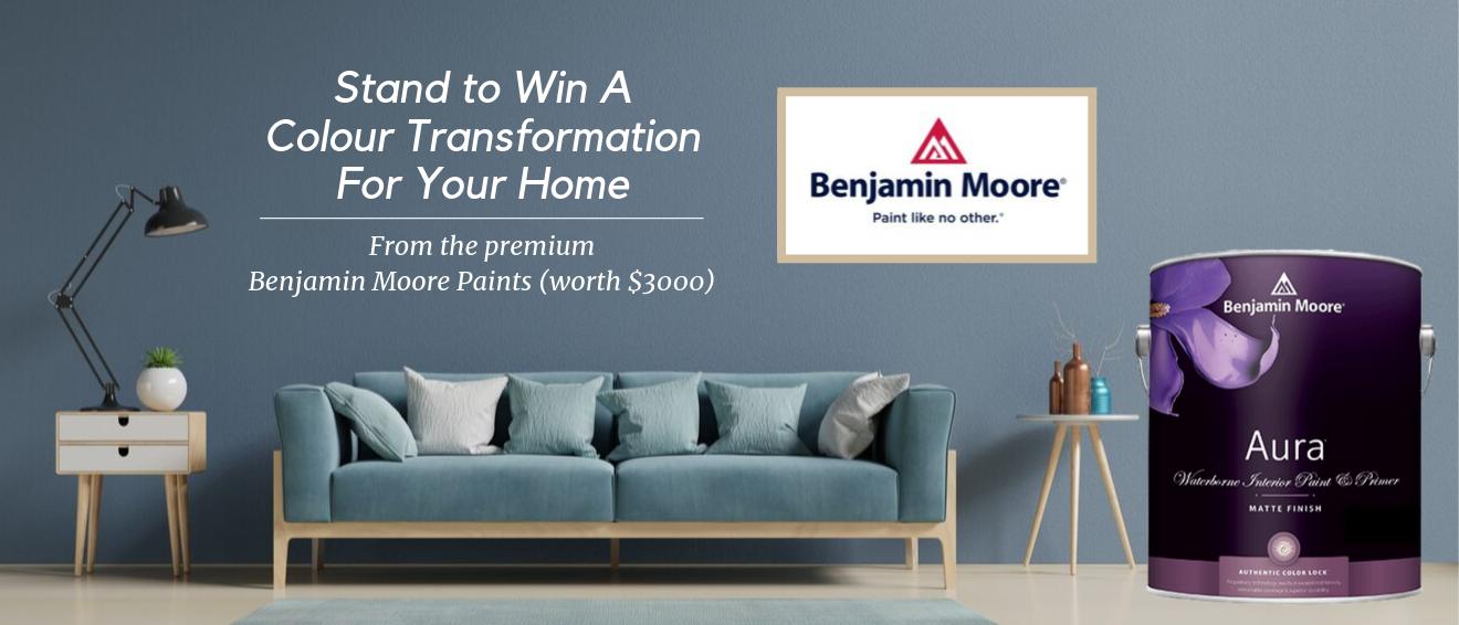Benjamin Moore Paints Giveaway