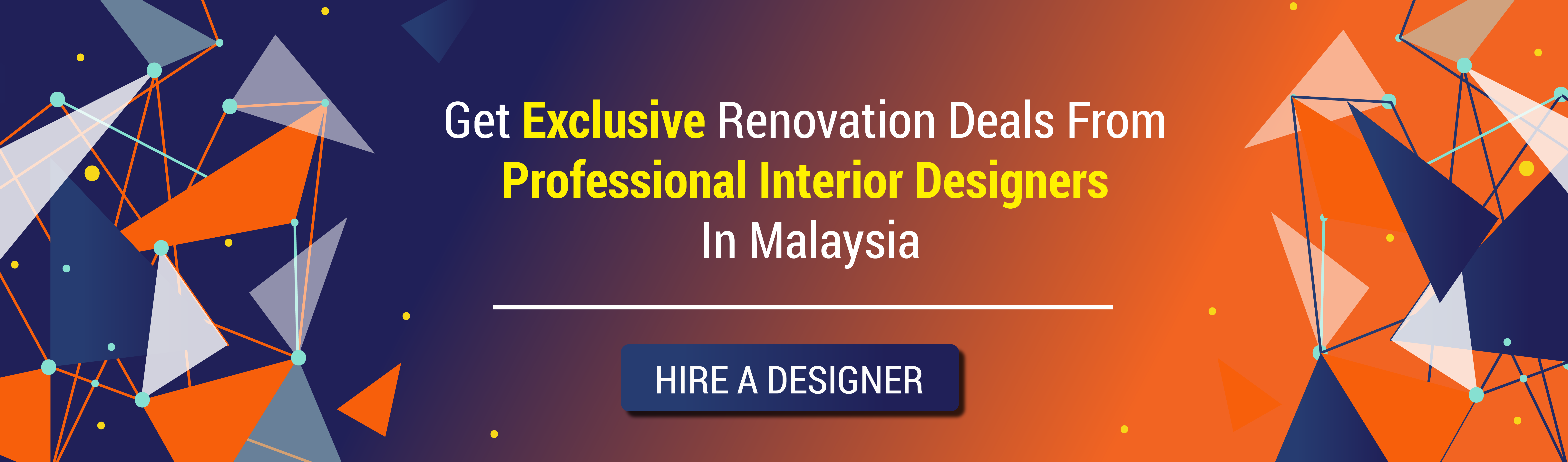 Connect with the best interior designers in Malaysia