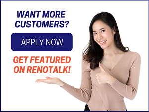 Get featured on Renotalk