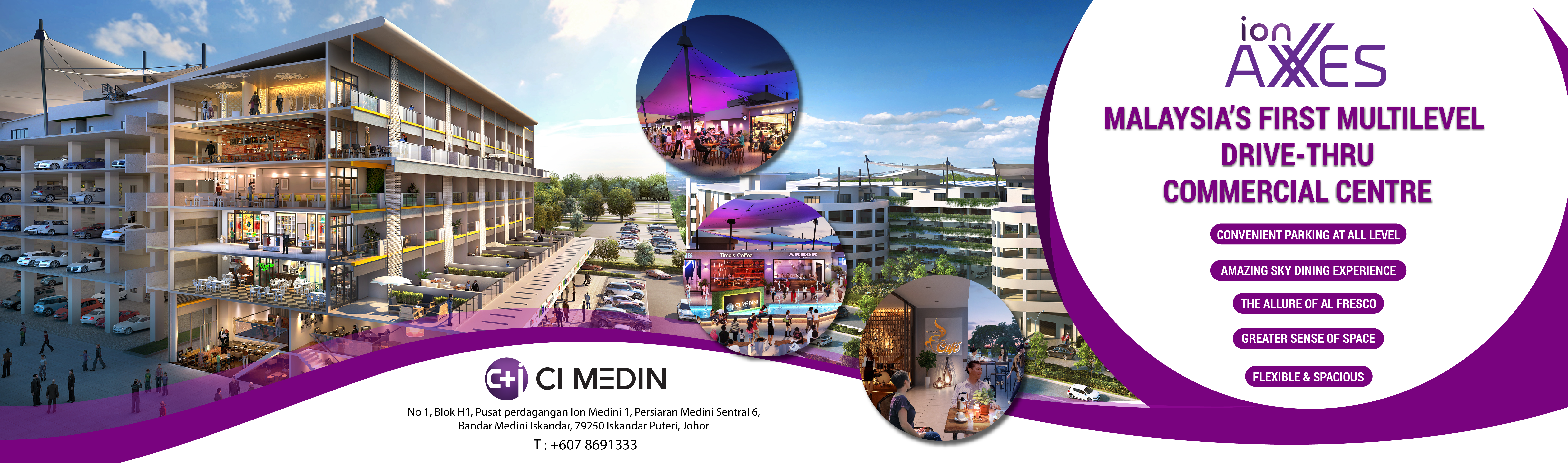 ion axxes commercial centre by ci medini