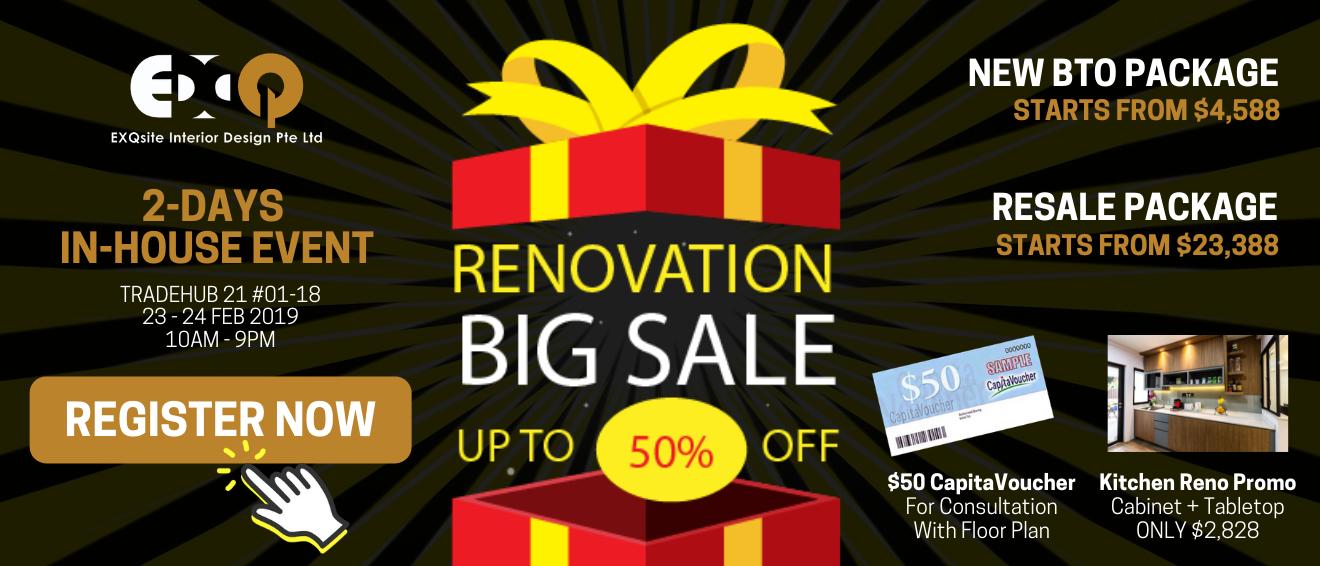 Exqsite Renovation Big Sale