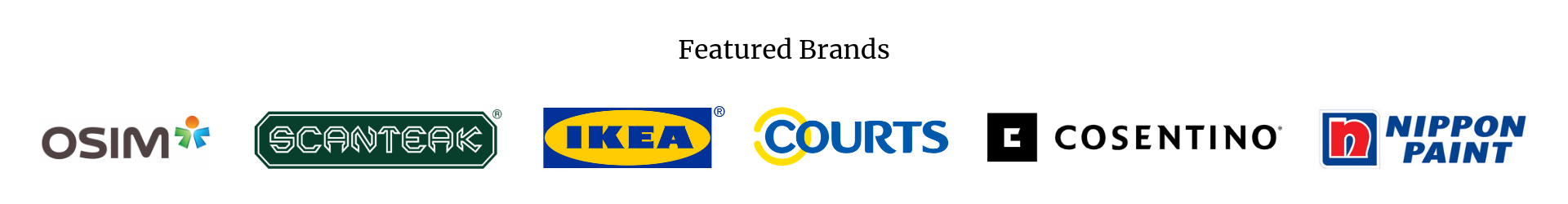 featured household brands on renotalk