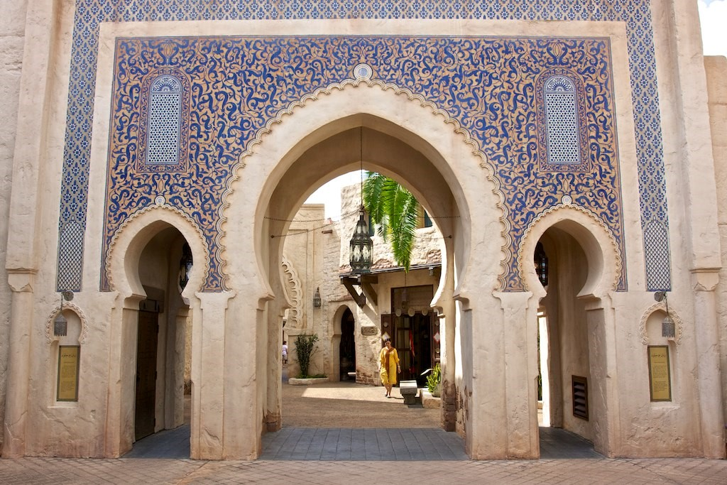 traditional archways
