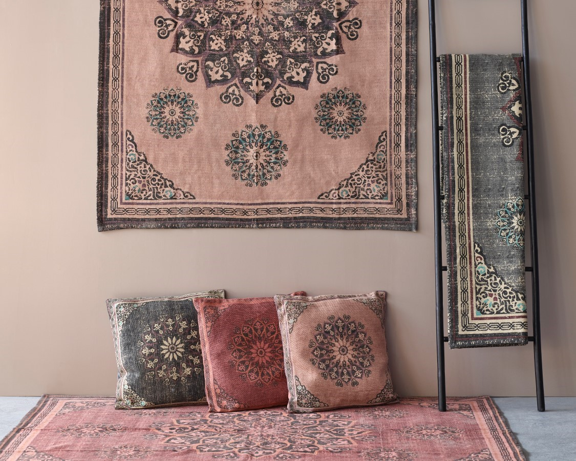 morrocan style patterned cushions
