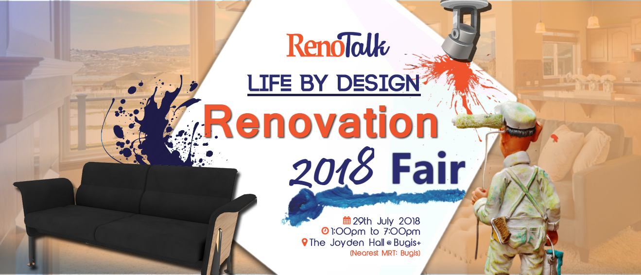 Life By Design: Renovation Fair 2018