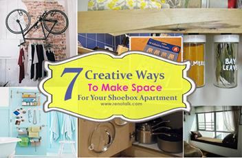 image for 7 Creative Ways To Create Space For Your Shoebox Apartment