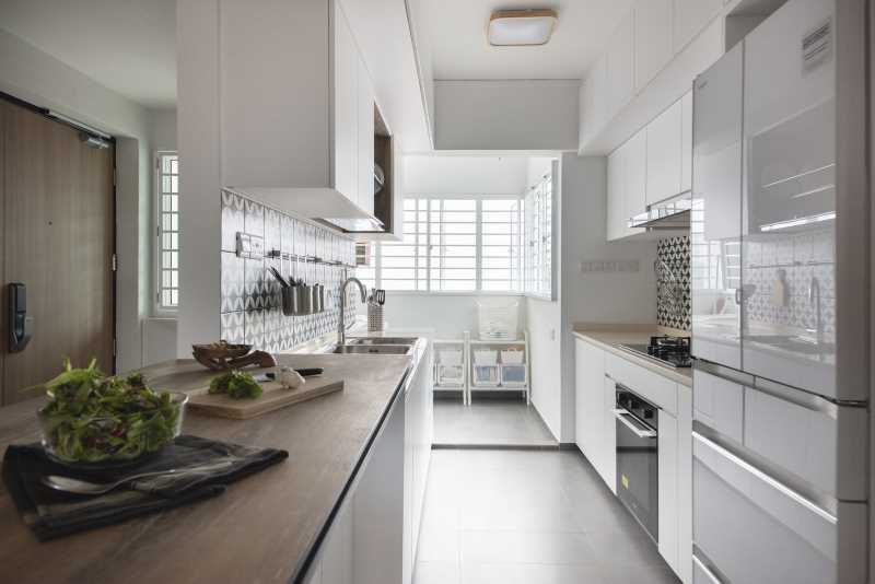 kitchen the safe haven interiors Singapore