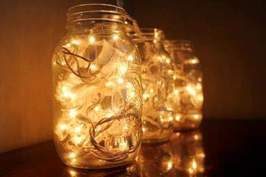 image for 5 Super Simple Christmas Decorations Using Jars
